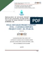 Vol. I - 1.FDPR a-42 Upper Narmada _11.4.18_update (1)