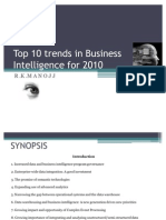 Top 10 Trends in Business Intelligence for 2010