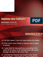 Journey into fullness