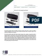 Gastec Sampling Pump Manual