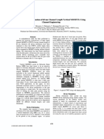 Performance Optimization of 60 Nm Channel Length Vertical Mosfets Using Channel Engineering