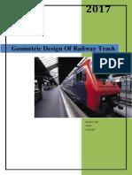 Geometric Design Of Railway Track 2 pdf