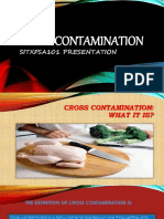 SITXFSA101 Cross Contamination Presentation