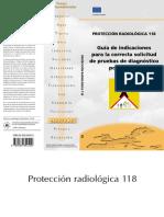 Guia de Proteccion Radiologica