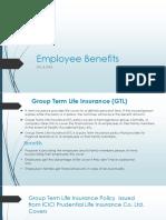 Employee Benefits Policy