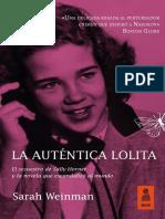 «La auténtica Lolita», Sarah Weinman