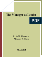 Manager as Leader