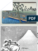 A collection of Japanese prints