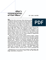 Mayer - Weber's Interpretation of Marx.pdf