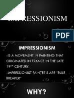 Impressionism Ppt