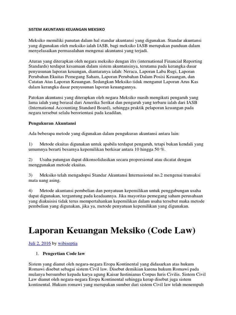 Sistem Akuntansi Keuangan Meksiko Docx
