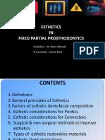 Esthetics in Fpd Seminaar 7
