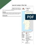 União Das Freguesias de Cortiçô e Vila Chã