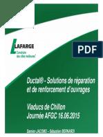Lafarge - Offre Ductal®
