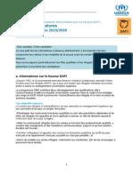 Formulaire DAFI 2019-2020 FR