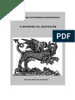 José Freire Monterroio Mascarenhas - O Monstro de Jerusalém