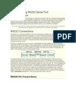 Understanding RS232 Serial Port Communication