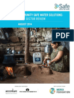 Community Water Systems - SWN_India Sector Review_Sept 2014_Full_Report
