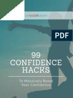99 confidence