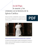 El Clarin - Los Crimenes de La Iglesia Católica