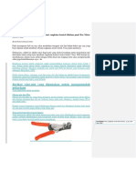 36 Jenis Alat Dan Bahan Untuk Membuat Rangkaian Kontrol Didalam Panel Box Motor Listrik 3 Fasa