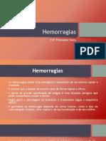 Hemorragias - primeiros socorros