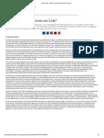 Cecilia Soto - Brasil, ¿Primera Elección Sin Lula?