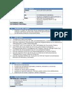 Formulario Auxiliar de Almacen