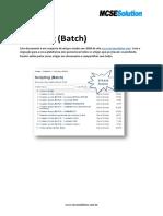 Scripting [Batch] Portuguese Brazil. Tutorial