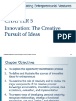 Chp 5 Innovation the Creative Pursuit of Ideas