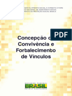 Caderno Convivencia e Fortalecimento de Vínculos