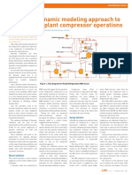 A Realistic Dynamic Modeling Approach to Support LNG Plant Compressor Operations