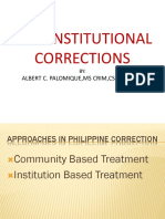 Non Institutional Corrections