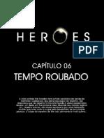 Heroes HQ 06 Tempo roubado www brazilseries xpgplus com br