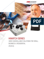 Hikvision 2018 Q1 Europe HiWatch Series Catalog
