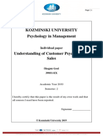 Psychology in Management