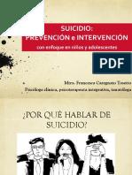 PREVENCIÓN E INTERVENCIÓN EN SUICIDIO - UCP