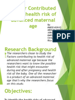 The factor affecting late pregnancy at the age.pptx