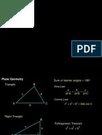 003 Plane Geometry