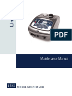 Linx 7300 Maintenance Manual