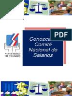 Conozca El Comité Nacional de Salarios Folleto Para Impresión