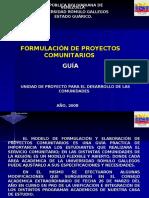 Proyecto Comunitario UNERG 2008