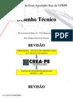 Aula 2 de desenho tecnico - Revisão.