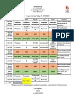 Cronograma Psicólogo (PIE - CONVIVENCIA) - Liceo Gregorio Morales