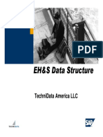 EHS Data Structure