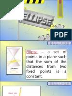CONIC SECTION:Ellipse