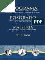 Banco de Guatemala Info PES 2019 2020