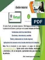 Anuncio Cursos Virtuales Sena