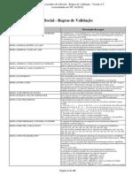 Leiautes Do ESocial v2.5 - Anexo II - Tabela de Regras (Cons. Até NT 14.2019)