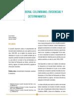 Mercado Laboral Colombiano